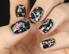 Copycat Claws: Sunday Stamping - Butterflies, Ladybugs & Fireflies