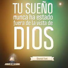 Tu sueño nunca ha estado fuera de la vista de Dios. #MaratónicaEnlace
