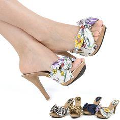 Nk 1110  Sexy Ladies platform Mule Sandals high heels in Women Shoes US 5~8.5