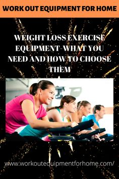 When it comes to getting the equipment for your use at home for that weight loss exercise program, you will need to get the low down on selecting, purchasing and utilizing fitness equipment. Home Workout Equipment, Fitness Equipment, At Home Workouts, Things To Come, Weight Loss, Losing Weight, Gym Equipment, Fitness Gear, Home Workouts