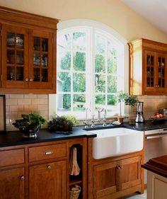 decoraci u00f3n de cocinas rusticas las cocinas r u00fasticas Backsplash for Kitchen Cabinets Dark Coffee Colored Kitchen Cabinets