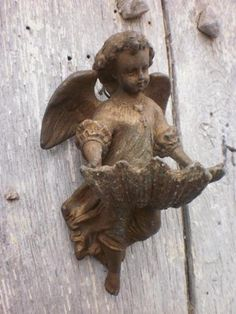 French antique angel