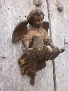 French antique angel, found on ebay.