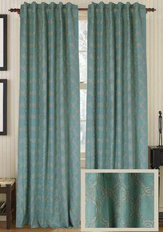 Jensen Curtain Panel - Draperies & Tiebacks - Window Treatments - Linens & Fabrics | HomeDecorators.com