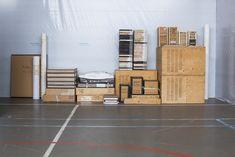 Sef Berkers. Archive. Archive arrangement exhibition 50 Years Ground, Gallery Gymnasium, 2014, Venlo, the Netherlands. Archive