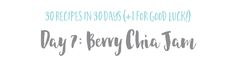This is our JAM. Our Berry Chia Jam! — The Wellness Collective