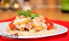 Salata de paste cu peste on http://www.gatesteusor.ro