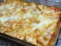 Been There Baked That: Chicken Penne Casserole   Oh yumm!  This was a hit at our table! Will be making again.