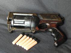 Steampunk Gun, Hand Guns, Nerf, Pistols, Revolver