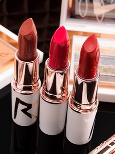 MAC x Rihanna RiRi Hearts MAC holiday lipsticks!