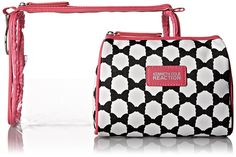 Kenneth Cole Reaction 2 Piece Travel Cosmetic Bag Set ** Startling review available here  : Travel cosmetic bag