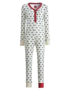 Joules Womens Onesie, Horse.                     An all-in-one sleep suit made for making cold nights in cosier. Great for sleeping in style and chilling out in those chilly months. In a super-soft and stretchy fabric with details and prints beyond compare.