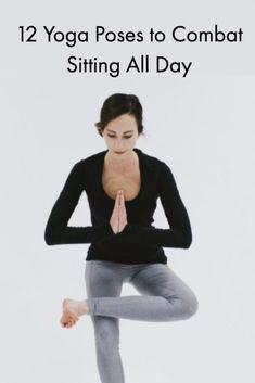 12 Yoga Poses to Combat Sitting All Day | Restorative Yoga