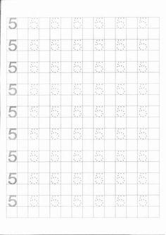 Grafomotricidad con los números del 1 al 10 | Escuela en la nube | Recursos para Infantil y Primaria Motor Skills Activities, Preschool Learning Activities, Preschool Worksheets, Alphabet Writing Practice, Writing Practice Worksheets, Printable Numbers, Color By Numbers, Writing Numbers, Literacy Activities