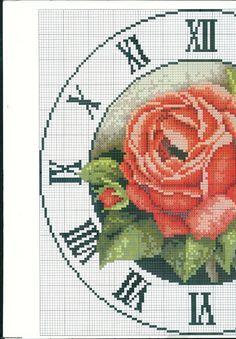 Gallery.ru / Фото #1 - 5 - irisha-ira Cross Stitch Rose, Cross Stitch Flowers, Cross Stitch Charts, Cross Stitch Patterns, Cross Stitching, Cross Stitch Embroidery, Baby Elefante, Freebies, Cross Stitch Alphabet