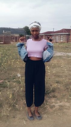 Crop top &top jean