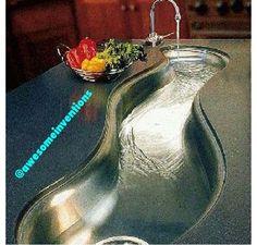 Wavy sink O.o