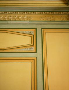 A detail of the master paneling in Nissim de Camondo's Paris bedroom. #thearchitectseye
