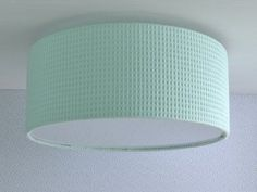 wafel plafondlamp mintgroen