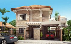 PHP-2015023 is a Four Bedroom Two Storey Contemporary Residence having a total floor area of 176 sq.m. which can be built in a lot with a minimum lot frontage of 11.3 meters and minimum area of 156...