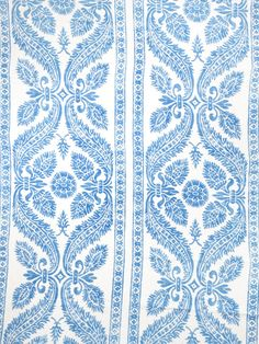 0513807 Chapelle Delft by Vervain Designer Fabric - Linen USA see fabric sample Horizontal: 27 inches and Vertical: 36 inches 54 inch min (See samples) - Swanky Fabrics - Drapery Fabric, Fabric Decor, Fabric Design, Pattern Design, Linen Fabric, Textile Patterns, Print Patterns, Textiles, Blue Patterns