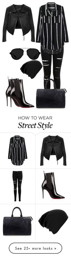 """""""Street Style"""" by chap15906248 on Polyvore featuring Miss Selfridge, Linea Pelle, Louis Vuitton and 3.1 Phillip Lim"""