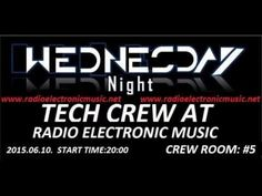 Tech crew at radio electronic music present crew room #5