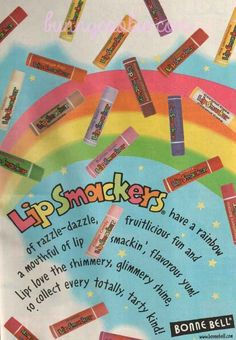 Lip Smackers   18 Beauty Product Ads From The '90s That Will Make You Feel Nostalgic #Pinterest-advertisely-beauty-ads