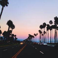 setting, sunset, road