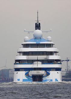 Golden Odyssey - 123.2m - 404ft 2in -  Lurssen - 2015 - Ex Project Tatiana