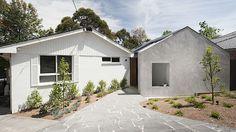 Architekt si rozšířil dům, získal tak prostornou ložnici