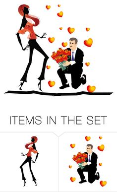 """""""In love ..."""" by jojona-1 ❤ liked on Polyvore featuring art"""