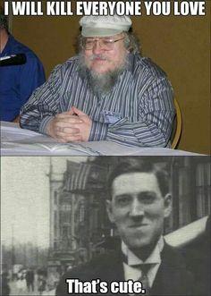 George R R Martin vs Lovecraft