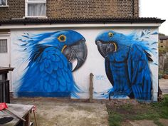 by Gnasher Graffiti Murals - London, UK