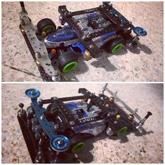MA Chassis using Shooting Star body and semi-pneumatic tires