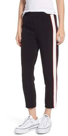 Chloe & Katie Crop Track Pants Athletic Pants, Athleisure, Chloe, Contrast, Kicks, Track, Pajama Pants, Nordstrom, Pajamas
