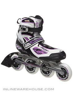 Rollerblade Tempest 90 Inline Skates Womens 2012 $199 inline warehouse size 8 on sale