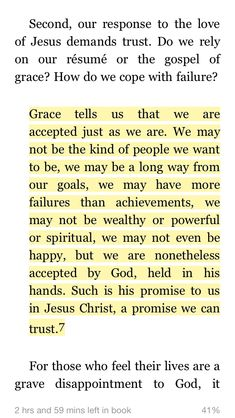 Grace tells us that we are accepted just as we are. Brennan Manning Quotes, I Need Jesus, Life Verses, Gospel Quotes, I Love The Lord, Knowing God, Quotes About God, Words Of Encouragement, True Words