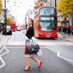 """Lelanie Mulder on Instagram: """"Breaking news! The streets of London have just been skirted!"""""""