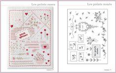 Mon Cahier de Broderie de Marie Suarez (Ed. de Saxe). En www.lacasinaroja.com   Libro de bordado tradicional con en el que se explican 131 puntos de bordado y que incluye 19 muestrarios y 7 diseños para bordar
