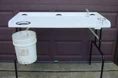 PVC Fish Cleaning Table