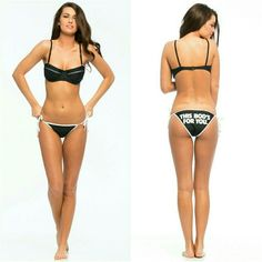 ''This Bods for you' Reverseable Bikini Bottom Brand new in bag . hygiene protection liner never removed. Fast Shipping! Thank you  Wildfox Swim Bikinis