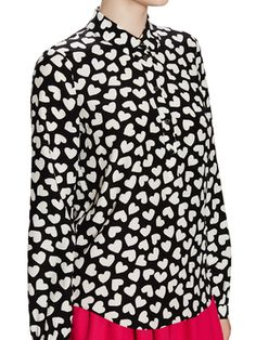 Dancing Hearts Popover Shirt from kate spade new york: sneak peek on Gilt