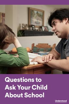 """When you ask your child what she did at school, do you often hear """"nothing"""" in reply? Here are some better questions to ask your child to encourage conversation about her day."""