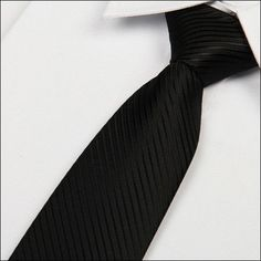 SHENNAIWEI 2016 new Solid black tie Thick stripes 8 cm gravata jacquard woven lot formal social event evening dress