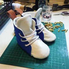 Little custom pair on the way today, loving the solids 😄 #onthecuttingroomfloor #ontheworkbench #streetstyle #fashionkid