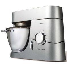 Kenwood Chef Titanium KM010 4.6 Litre Kitchen Machine, 1400 Watt, Titanium