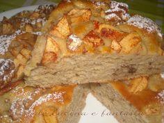 torta di mele con noci ricotta e cannella vale cucina e fantasia