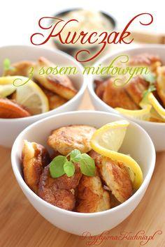 Kurczak w sosie miętowym