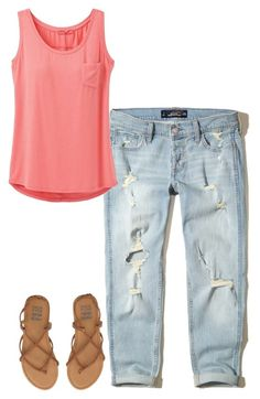 """""""Weekend Getaway"""" by messagetawnya ❤ liked on Polyvore featuring Hollister Co., prAna and Billabong"""